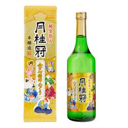 Gekkeikan honjozo gold flakes 2