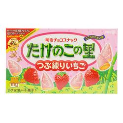 10165 meiji bamboo shoot biscuit strawberry