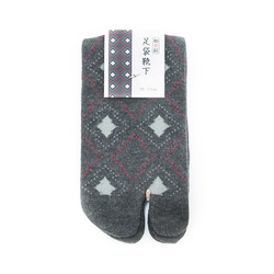 10368 socks grey diamond
