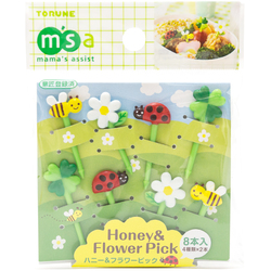 10520 honey flower bento picks