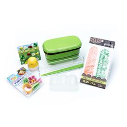 10546 bento accessory set garden green