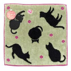 10828 hand towel cat