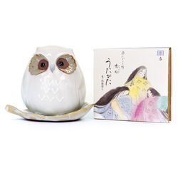 10830 owl incense set