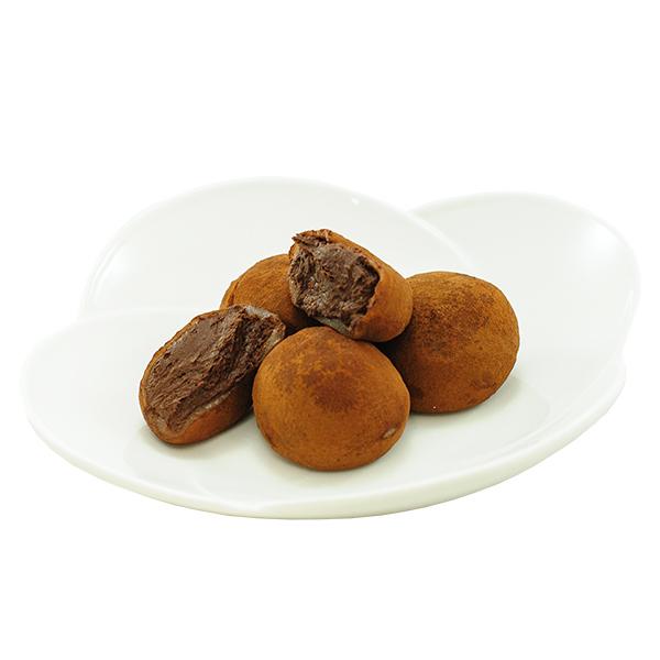 3963 chocolate mochi plate