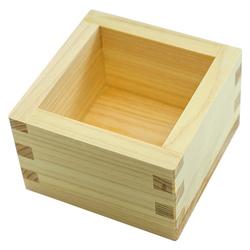 3182 wooden masu sake cup