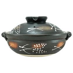11301 earthenware pot brown