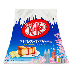 11372 nestle kitkat strawberry cheesecake