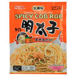 1021 spaghetti sauce spicy cod roe