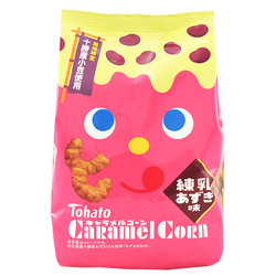 11454 ginbis caramel corn azuki milk