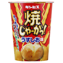 Potato straws salt
