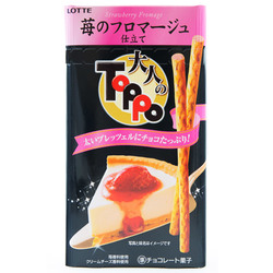 Toppo strawberry cheesecake