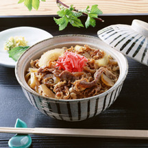 Photo gyudon beef