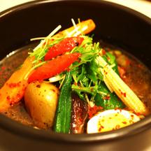 Photo hokkaido soup curry