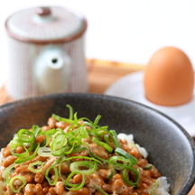 Photo natto breakfast bowl 2