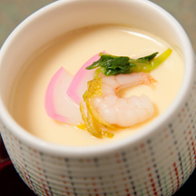 Photo chawanmushi steamed savoury egg custard 2