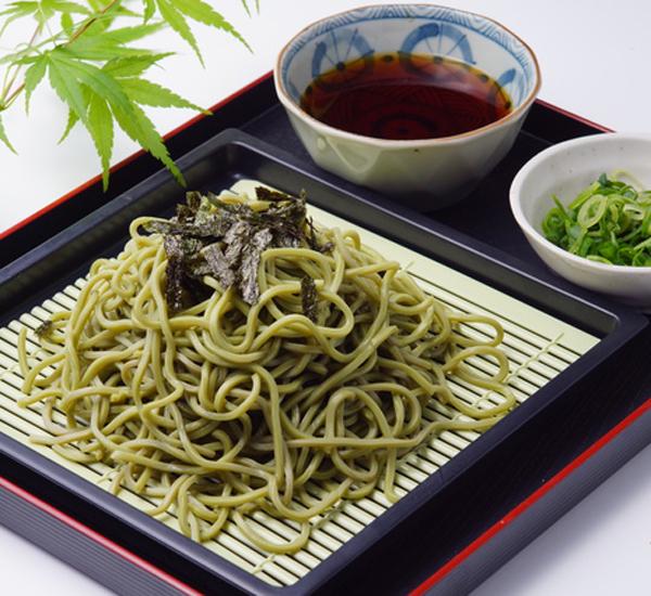 Nouilles soba au thé vert froides Recette - Japan Centre