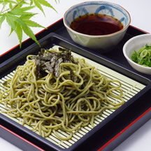 Original cold green tea soba cropped