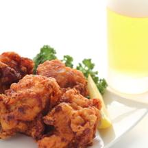 Photo kimchi karaage chicken