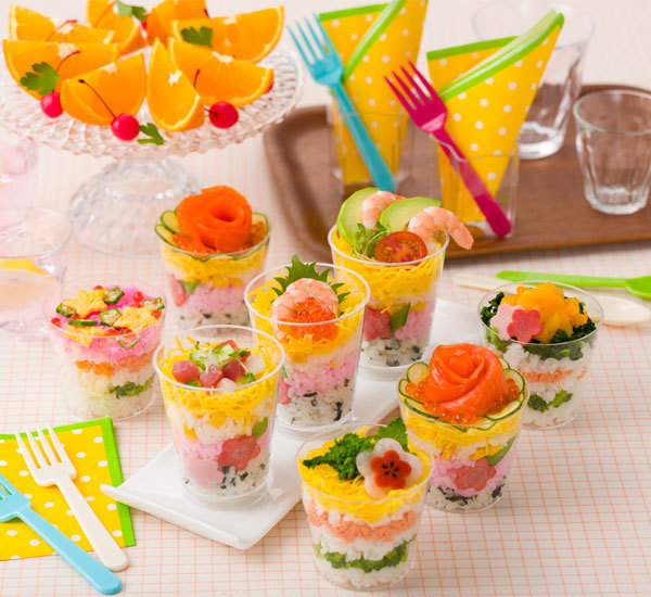 Chirashi cups