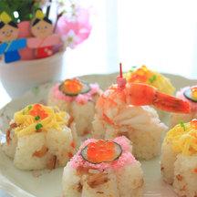 Moulded sushi
