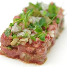 Sake beef tartare recipe