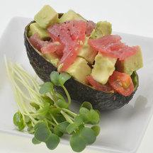 Avocado tuna cocotto