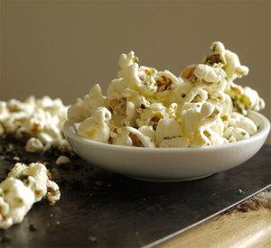 Seaweed popcorn