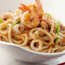 Photo yaki udon stir fry noodles
