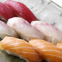 Photo nigiri sushi