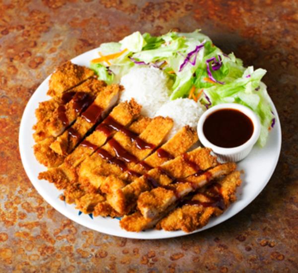 Tonkatsu Deep-Fried Breaded Pork Cutlet