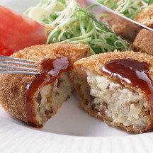 Photo japanese korokke