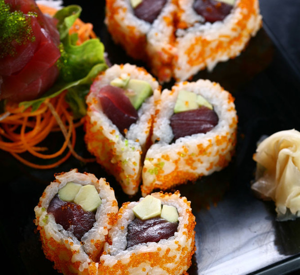 Heart Shaped Sushi For Valentine's Day