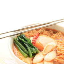 Photo spicy ramen