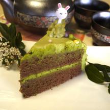 334 matcha easter cake