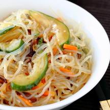 Photo harusame shirataki salad