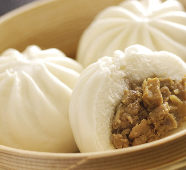 Steamed Meat Buns (Nikuman)