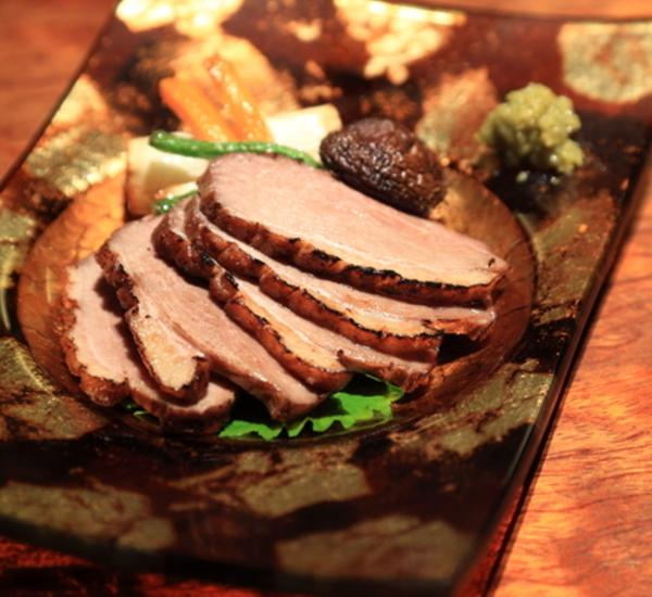 Seared Marinated Duck (Kamo Rosu)