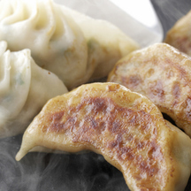 Photo vegetable gyoza