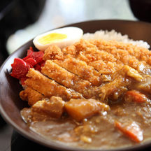 6 pork katsu curry