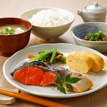 Photo home style japanese meal