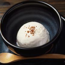 Photo tofu ice cream