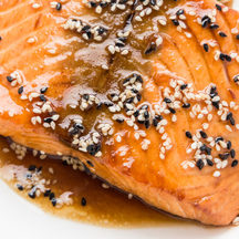961 seared salmon wasabi so